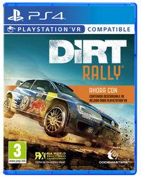 Portada oficial de DiRT Rally para PS4