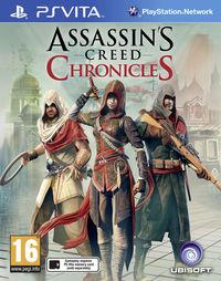 Portada oficial de Assassin's Creed Chronicles para PSVITA
