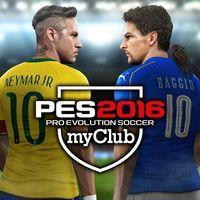 Portada oficial de PES 2016 myClub PSN para PS3