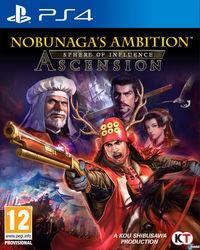 Portada oficial de Nobunaga's Ambition: Sphere of Influence – Ascension para PS4