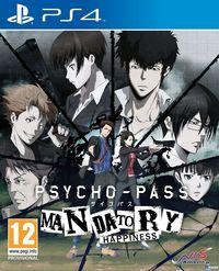 Portada oficial de Psycho-Pass: Mandatory Happiness para PS4