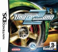 Portada oficial de Need for Speed Underground 2 para NDS