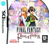 Portada oficial de Final Fantasy: Crystal Chronicles - Ring of Fates para NDS