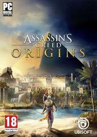 Portada oficial de Assassin's Creed Origins para PC