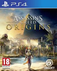 Portada oficial de Assassin's Creed Origins para PS4