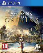 Portada oficial de de Assassin's Creed Origins para PS4