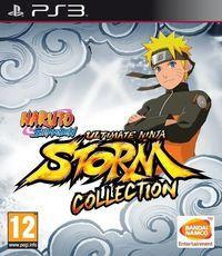 Portada oficial de Naruto Shippuden Ultimate Ninja Storm Collection para PS3