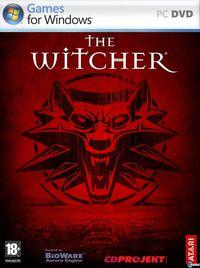 Portada oficial de The Witcher para PC