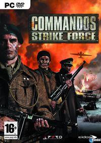 Portada oficial de Commandos Strike Force para PC