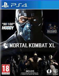 Portada oficial de Mortal Kombat XL para PS4