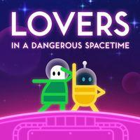 Portada oficial de Lovers in a Dangerous Spacetime para PS4