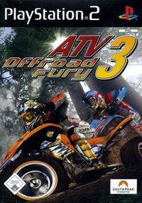 Portada oficial de ATV Offroad Fury 3 para PS2