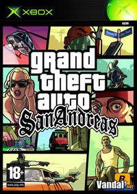 Portada oficial de Grand Theft Auto: San Andreas para Xbox