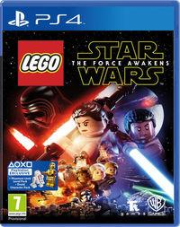Portada oficial de LEGO Star Wars: El Despertar de la Fuerza para PS4