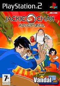 Portada oficial de Jackie Chan Adventures para PS2