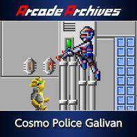 Portada oficial de Arcade Archives: Cosmo Police Galivan para PS4
