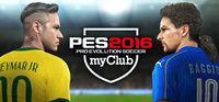 Portada oficial de Pro Evolution Soccer 2016 myClub para PC
