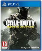 Portada oficial de de Call of Duty: Infinite Warfare para PS4