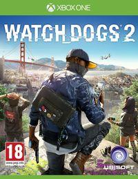 Portada oficial de Watch Dogs 2 para Xbox One