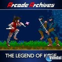 Portada oficial de Arcade Archives: The Legend of Kage para PS4