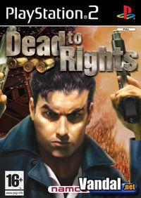 Portada oficial de Dead to Rights para PS2