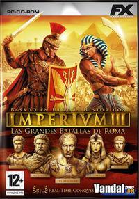 Portada oficial de Imperivm 3: Las Grandes Batallas de Roma para PC