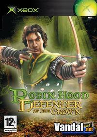 Portada oficial de Robin Hood: Defender of the Crown para Xbox