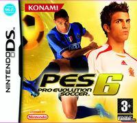 Portada oficial de Pro Evolution Soccer 6 para NDS