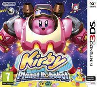 Portada oficial de Kirby: Planet Robobot para Nintendo 3DS