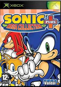 Portada oficial de Sonic Mega Collection Plus para Xbox