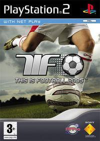 Portada oficial de Esto es Fútbol 2005 para PS2