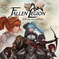 Portada oficial de Fallen Legion: Flames of Rebellion para PSVITA
