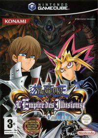 Portada oficial de Yu-Gi-Oh! Falsebound Kingdom para GameCube