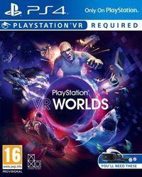 Portada oficial de PlayStation VR Worlds para PS4