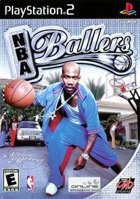 Portada oficial de NBA Ballers para PS2