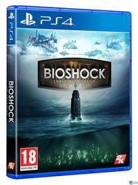 Portada oficial de BioShock: The Collection para PS4