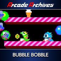 Portada oficial de Arcade Archives Bubble Bobble para PS4