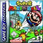 Portada oficial de Super Mario Ball para Game Boy Advance