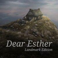 Portada oficial de Dear Esther: Landmark Edition para PS4