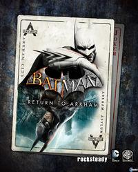 Portada oficial de Batman: Return to Arkham para PS4
