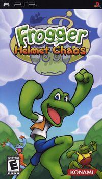 Portada oficial de Frogger para PSP