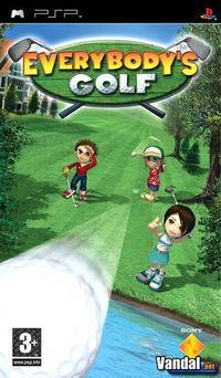 Portada oficial de Everybody's Golf para PSP