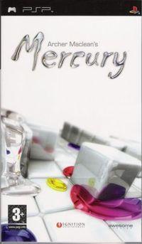 Portada oficial de Mercury para PSP