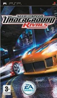 Portada oficial de Need for Speed Underground Rivals para PSP