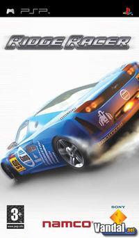 Portada oficial de Ridge Racer para PSP