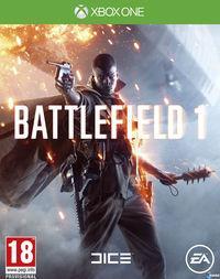 Portada oficial de Battlefield 1 para Xbox One