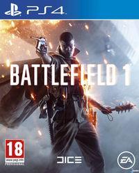 Portada oficial de Battlefield 1 para PS4
