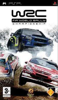 Portada oficial de WRC para PSP