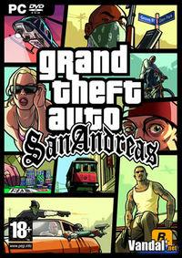 Portada oficial de Grand Theft Auto: San Andreas para PC