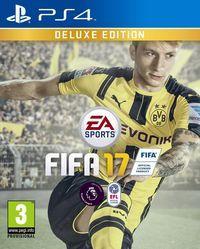 Portada oficial de FIFA 17 para PS4